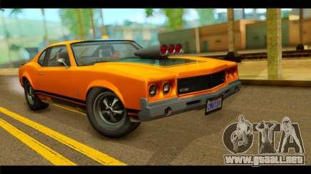 GTA 5 Declasse Sabre GT Turbo IVF para GTA San Andreas