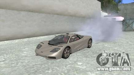 1992 McLaren F1 Clinic Model Custom Tunable v1.0 para GTA San Andreas