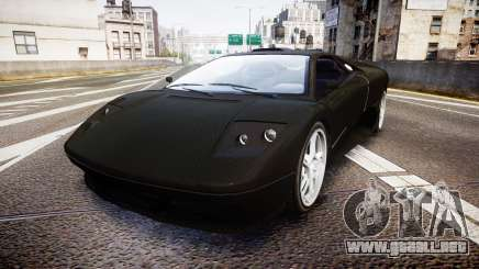 Pegassi Infernus Full Carbon para GTA 4