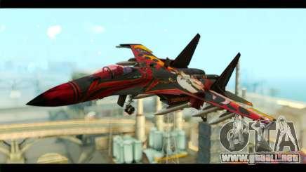 SU-35 Flanker-E Tekken para GTA San Andreas