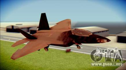 F-22 Raptor G1 Starscream para GTA San Andreas
