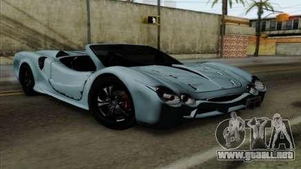 Mitsuoka Orochi Nude Top Roadster para GTA San Andreas