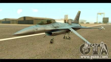 Lockheed Martin F-16C Fighting Falcon Warwolf para GTA San Andreas