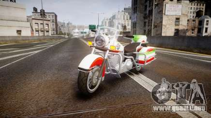 GTA V Western Motorcycle Company Sovereign IRN para GTA 4