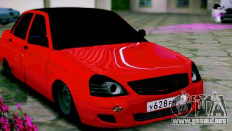 Lada 2170 Priora Spartak De Moscú para GTA San Andreas left