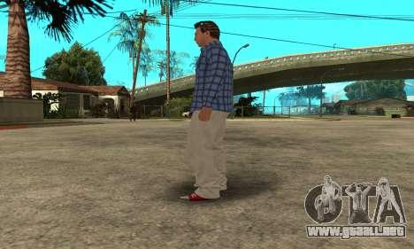 Skin Claude [HD] para GTA San Andreas octavo de pantalla