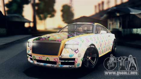 GTA 5 Enus Windsor IVF para vista lateral GTA San Andreas