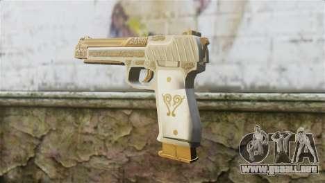 Desert Eagle Skin from GTA 5 para GTA San Andreas segunda pantalla