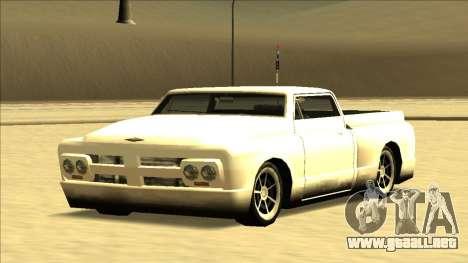 Slamvan Final para la vista superior GTA San Andreas