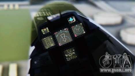 F-15DJ (E) JASDF Aggressor 32-8081 para la visión correcta GTA San Andreas