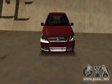 Suzuki Fun 2009 para GTA San Andreas left