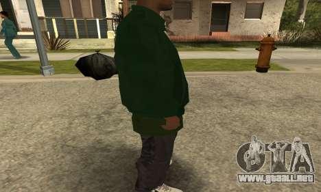 Groove St. Nigga Skin First para GTA San Andreas quinta pantalla