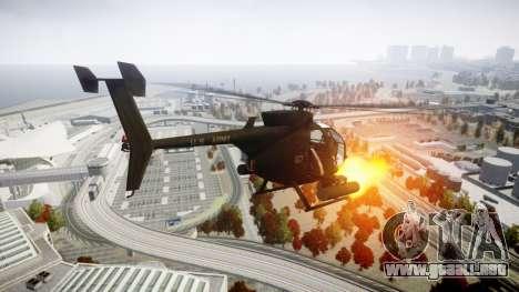 AH-6 Little Bird para GTA 4 left