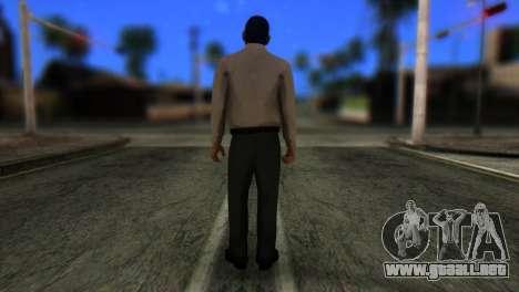 GTA 5 Skin 5 para GTA San Andreas segunda pantalla