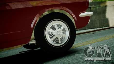 Ford Mustang 1965 para GTA 4 Vista posterior izquierda