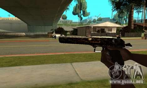 Leopard Deagle para GTA San Andreas segunda pantalla