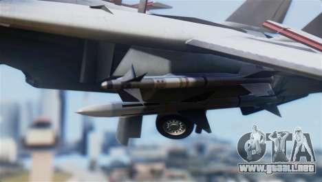 F-14A Tomcat VF-21 Freelancers para la visión correcta GTA San Andreas