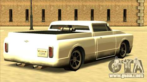 Slamvan Final para visión interna GTA San Andreas
