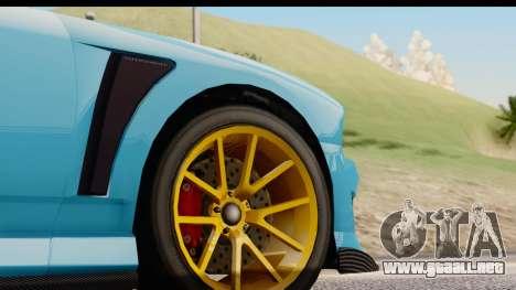 GTA 5 Bravado Buffalo S Sprunk para vista lateral GTA San Andreas