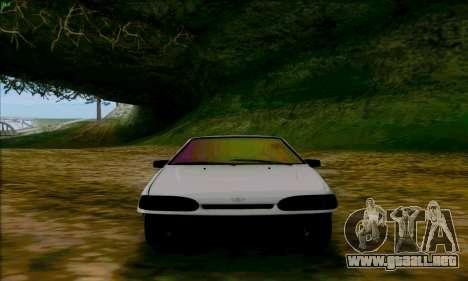 2114 Ala Dubai para GTA San Andreas vista hacia atrás