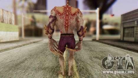 Titan Powered Joker from Batman Arkham Asylum para GTA San Andreas tercera pantalla