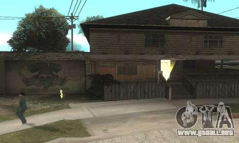 Welcome Back para GTA San Andreas segunda pantalla