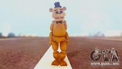 Golden Freddy v2 para GTA San Andreas segunda pantalla