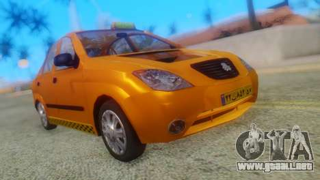 Tiba Taxi v1 para GTA San Andreas