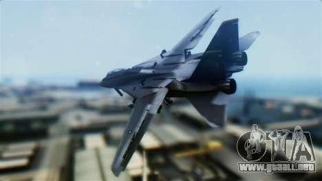 F-14D Super Tomcat Halloween Pumpkin para GTA San Andreas left