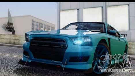 GTA 5 Bravado Buffalo S Sprunk para GTA San Andreas vista posterior izquierda