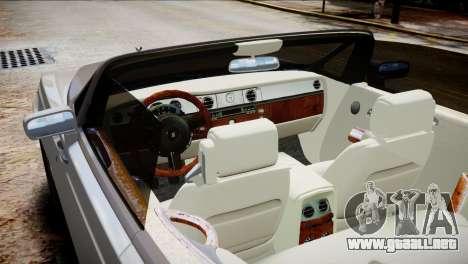 Rolls-Royce Phantom Coupe 2009 para GTA 4 visión correcta