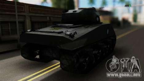 M4 Sherman Gawai Special para GTA San Andreas left