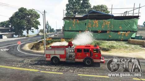 GTA 5 Trabajo en el servicio de bomberos de la v1.0-RC segunda captura de pantalla