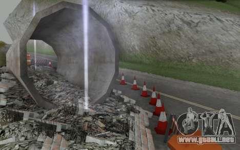 La reparación de los caminos para GTA San Andreas sexta pantalla