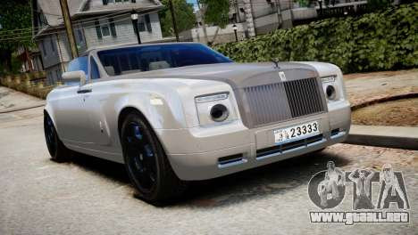 Rolls-Royce Phantom Coupe 2009 para GTA 4