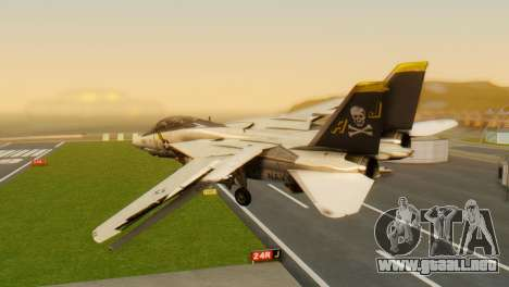 F-14A Tomcat VF-202 Superheats para GTA San Andreas left