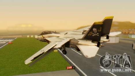 F-14A Tomcat VF-202 Superheats para GTA San Andreas left