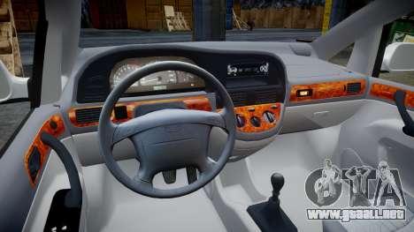 Daewoo Tacuma 2001 para GTA 4 vista hacia atrás