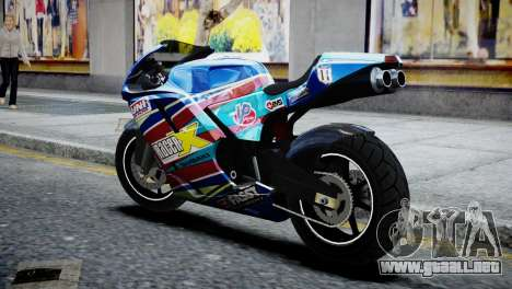 Bike Bati 2 HD Skin 2 para GTA 4 left