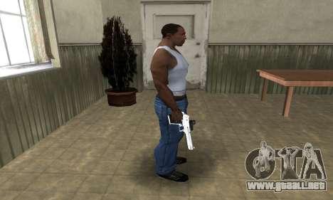 Tiger Deagle para GTA San Andreas tercera pantalla