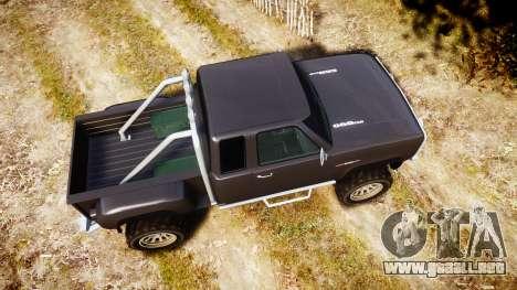 Vapid Bobcat Hillbilly para GTA 4 visión correcta