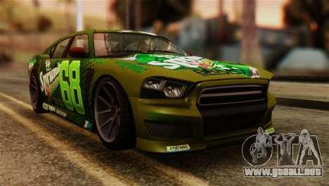 GTA 5 Bravado Buffalo Sprunk IVF para GTA San Andreas