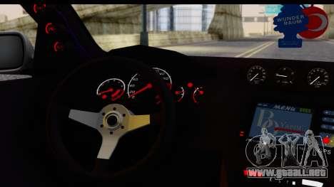 Seat Ibiza para la visión correcta GTA San Andreas