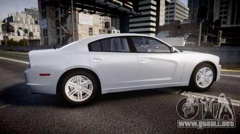 Dodge Charger Traffic Patrol Unit [ELS] bl para GTA 4 left