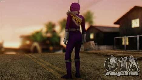 Power Rangers Skin 7 para GTA San Andreas segunda pantalla