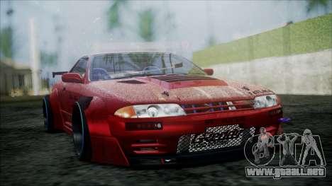 Nissan Skyline GT-R R32 Battle Machine para la visión correcta GTA San Andreas