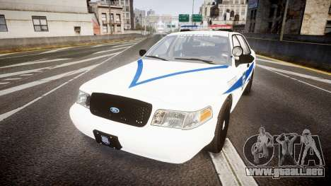 Ford Crown Victoria Indiana State Police [ELS] para GTA 4