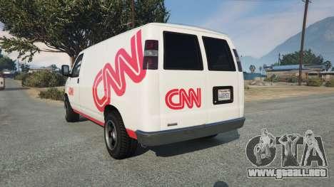 GTA 5 Bravado Rumpo CNN v0.2 vista lateral izquierda trasera