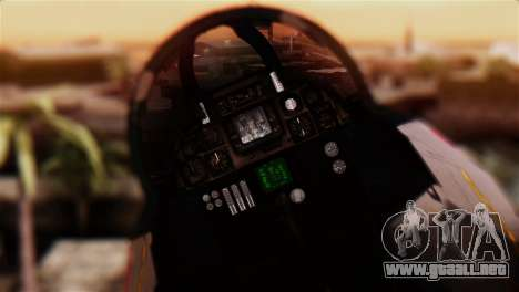 F-14A Tomcat IRIAF para GTA San Andreas vista hacia atrás