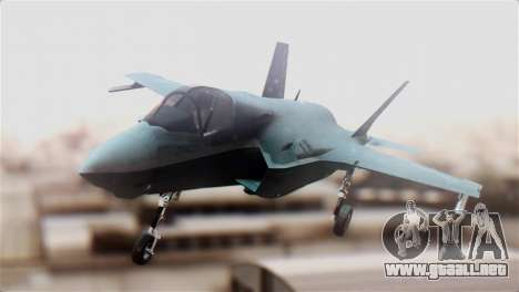 F-35B Lightning II para la visión correcta GTA San Andreas